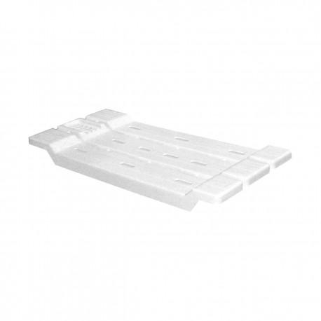 Полка для ванной (сиденье)(белый) М1552