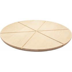 Доска круглая Vega 390х390мм для пиццы К68