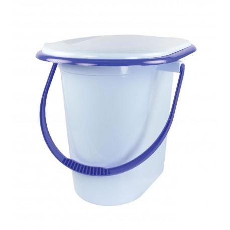 Ведро-туалет 17 л (голубой) М1320