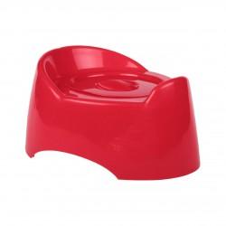 """Горшок туалетный детский """"Малышок"""" с крышкой (красный) М1527"""