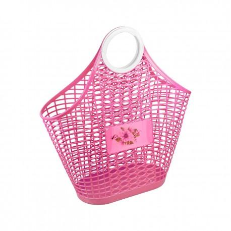 """Корзина (сумка) """"Хризантема"""" (розовый) М4623"""