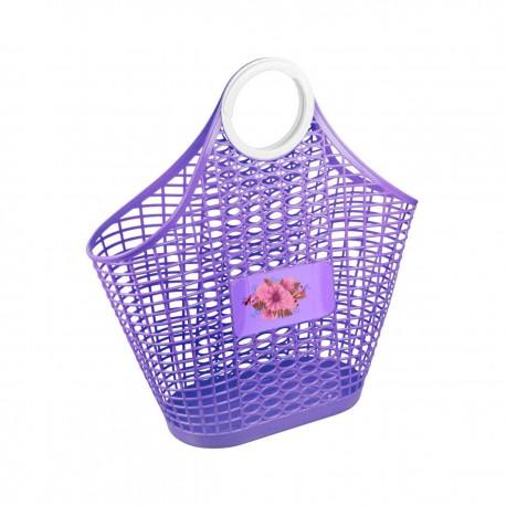 """Корзина (сумка) """"Хризантема"""" (фиолетовый) М4621"""