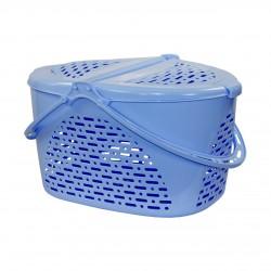 Корзина для пикника (голубой) М1350