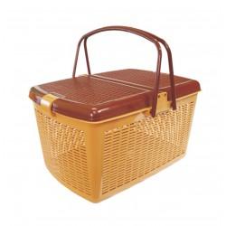 Корзина для пикника (светло-коричневый) М1539