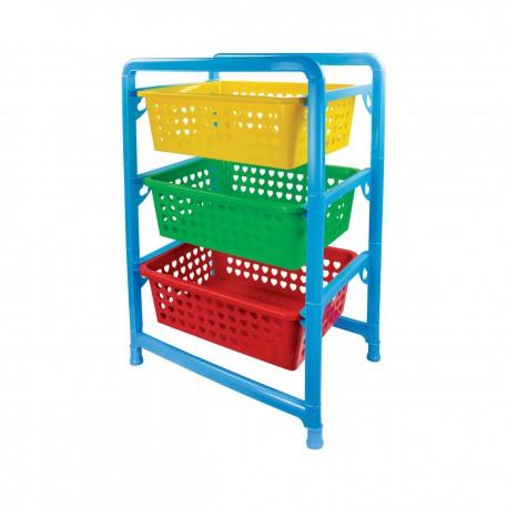 Этажерка детская для игрушек М1273