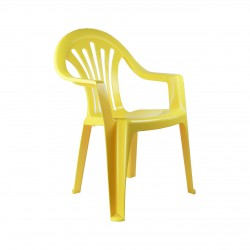 Кресло детское (жёлтый) М2526