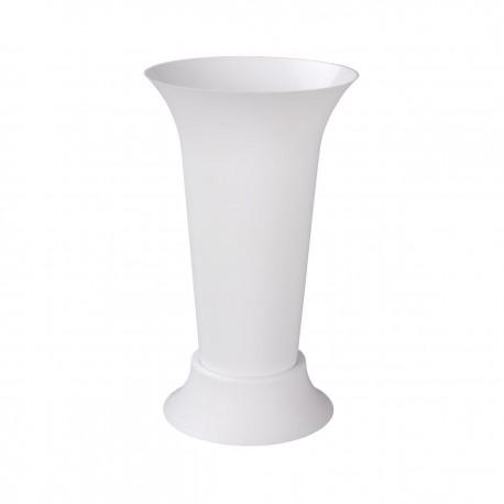 Ваза для цветов под срезку (D185мм,высота310мм)(белый) М5350