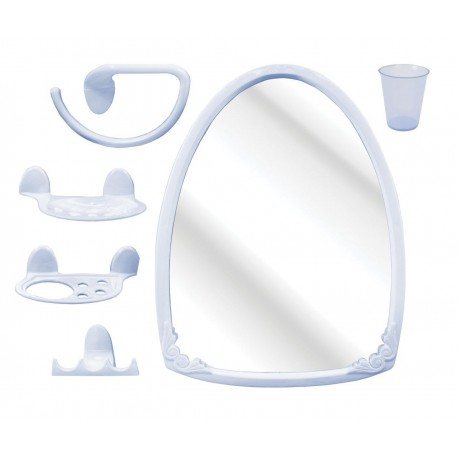 "Набор для ванной комнаты ""Аква"" №3 М1672"